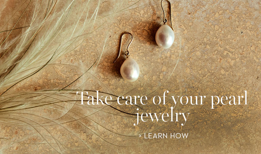 Take care of your pearl jewelry
