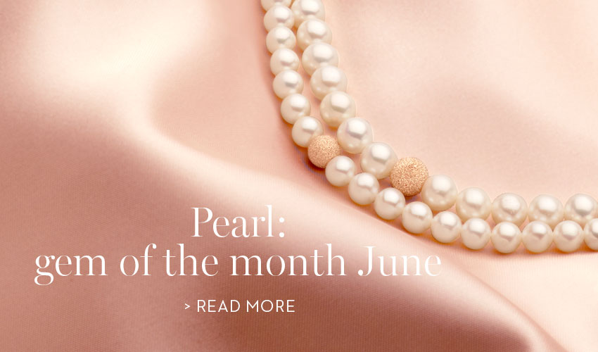 Pearl: gem of the month june