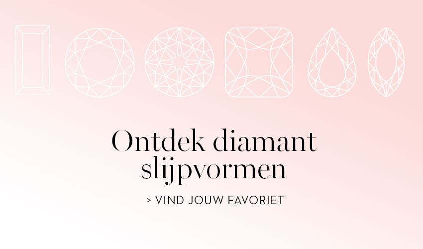 Ontdek diamant slijpvormen