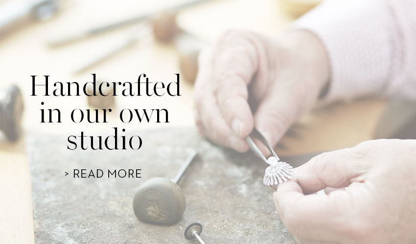 Handcrafted in our own studio
