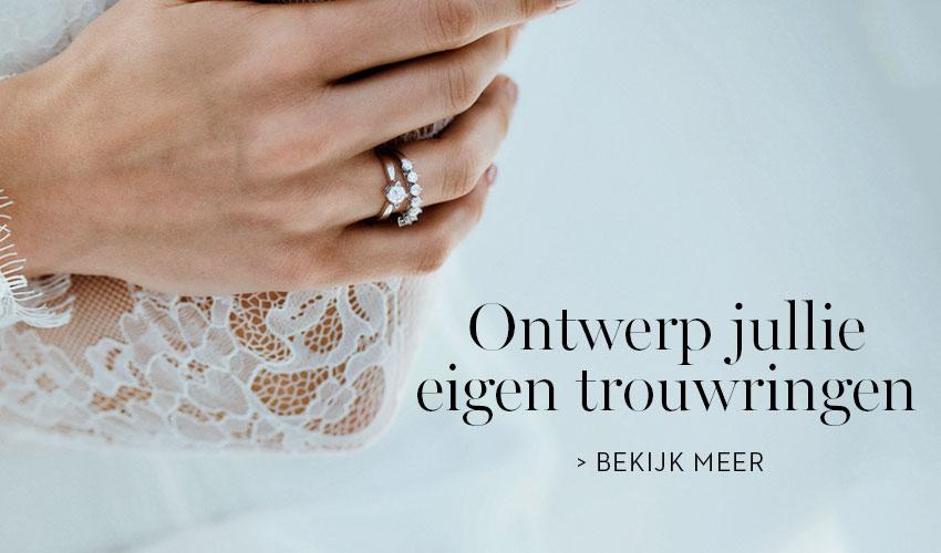 Ontwerp jullie eigen trouwringen