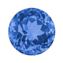 Maandsteen blauwe saffier